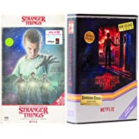 Video Hawkins 4k Stranger Things Exclusive Sci-Fi Set UHD & Blu Ray VHS Box Stranger Things Season 1 / Season 2 Upside…