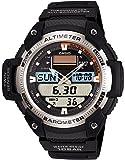 [カシオ] 腕時計 スポーツギア ツインセンサー SGW-400H-1BJF ブラック
