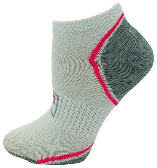 6 Pairs of Ankle Socks, Low Cut No Show Performance Sports Sock for Men, Women, Kids (Arch Support (White/Blk), Womens 9-11 (Shoe sizes 4-10)) at Amazon ...