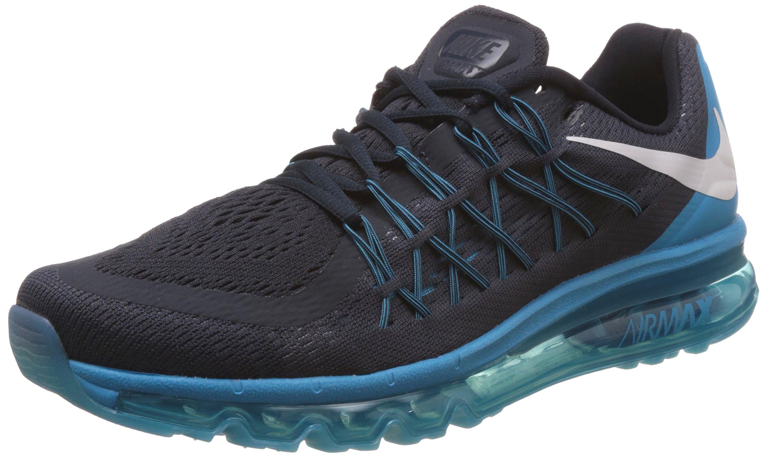 wholesale dealer b62e1 4dab3 Galleon - Nike Air Max 2015 Mens Running Trainers 698902 Sneakers Shoes (UK  6 US 7 EU 40, Dark Obsidian White Blue Legion 402)