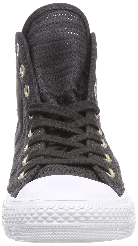 Converse Damen CTAS 049) Hi Almost schwarz/Tan/Weiß Hohe Sneaker Schwarz (Almost schwarz/Tan/Weiß 049) CTAS 9990cb