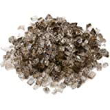 only fire Fire Glass for Natural or Propane Fire Pit, Fireplace, or Gas Log Sets, 10-Pound, 1/2-Inch, Bronze