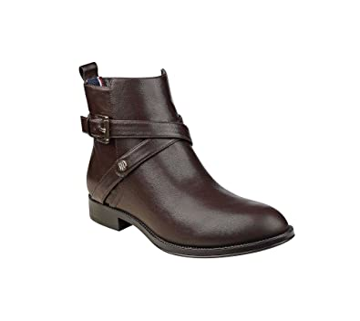 c0cbc2da7 Tommy Hilfiger Rambit Casual Booties Brown 5 M  Amazon.co.uk  Shoes ...