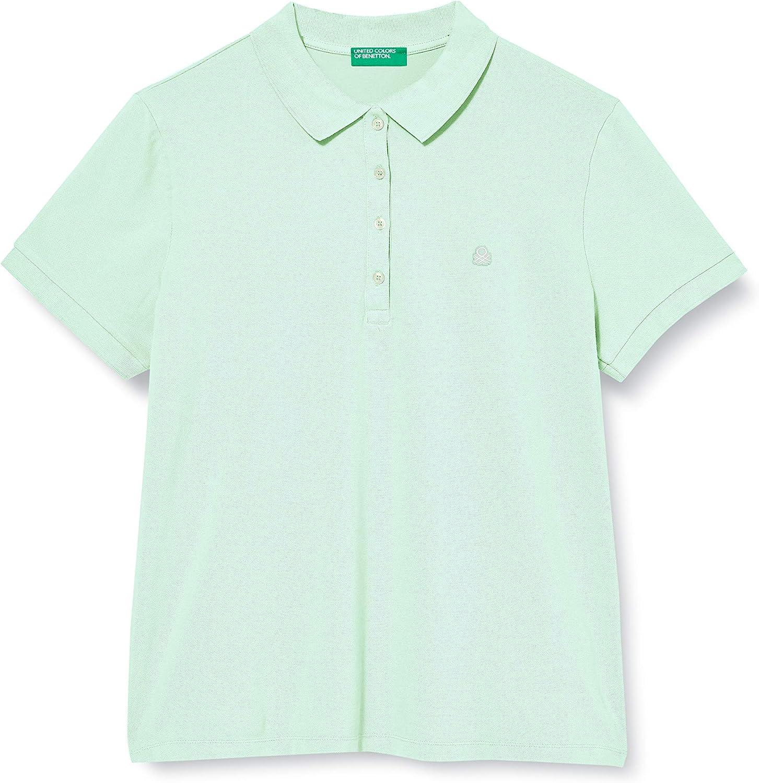 Estado Cuña presidente  United Colors of Benetton Damen Polo Poloshirt