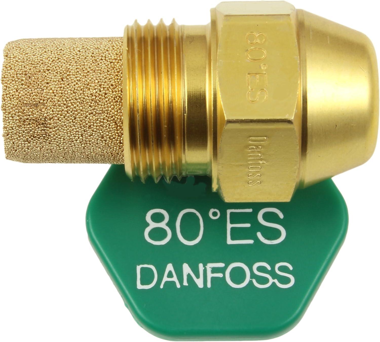 Danfoss Oil Fired Boiler Burner Nozzle 0.65 x 80 ES USgal/h ° Degree Spray Pattern Heating Jet 1.95 Kg/h