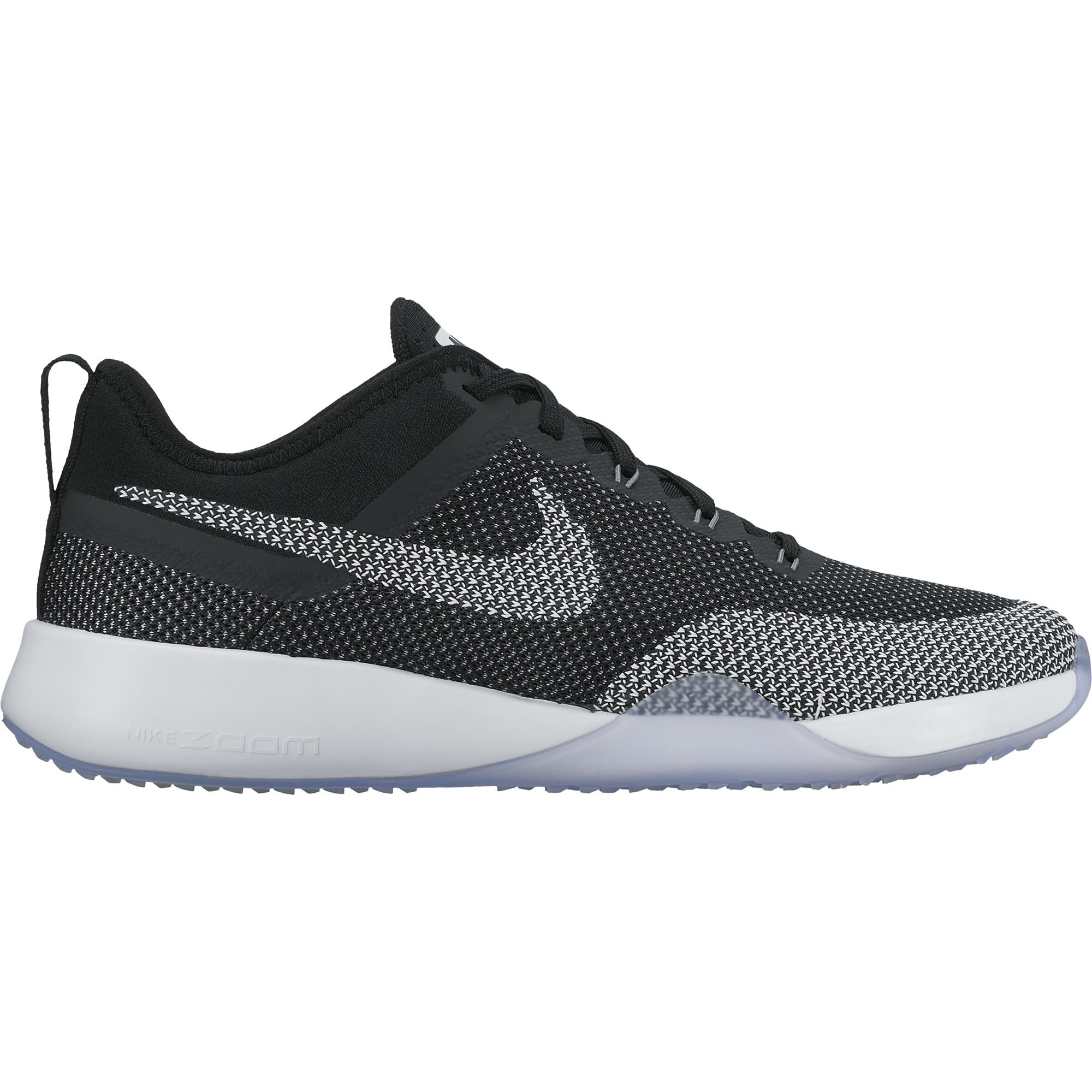 b31c5d25163b Galleon - NIKE Womens Air Zoom Dynamic Mesh Trainers Black White Cool Grey  (9.5)