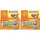 Flintstones Chewable Tablets Plus Immunity Support 60 Tablets (Pack of 2)