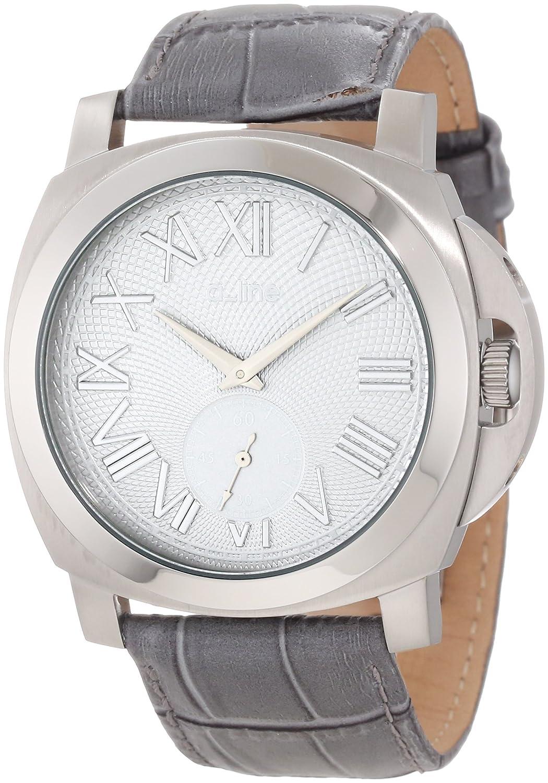 A Line – al-80007 – 014-gr – Armbanduhr – Quarz Analog – Armband Leder grau