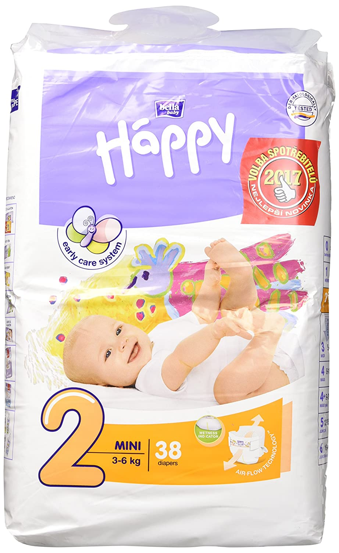 12-25kg 126 Windeln Bella Baby Happy Junior Größe 5