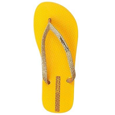 Ipanema Ipa-81739_975yg_35/36, Damen Zehentrenner gelb gelb 35.5, gelb - gelb - Größe: 37