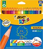 BIC Kids Evolution ECOlutions Colouring Pencils 24 Pack