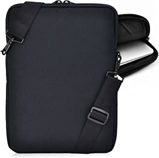 """product image for Turtleback Universal Laptop and Chromebook Pouch Bag with Shoulder Strap - Fits Devices up to 11"""" Inch - (Black), Made in USA"""