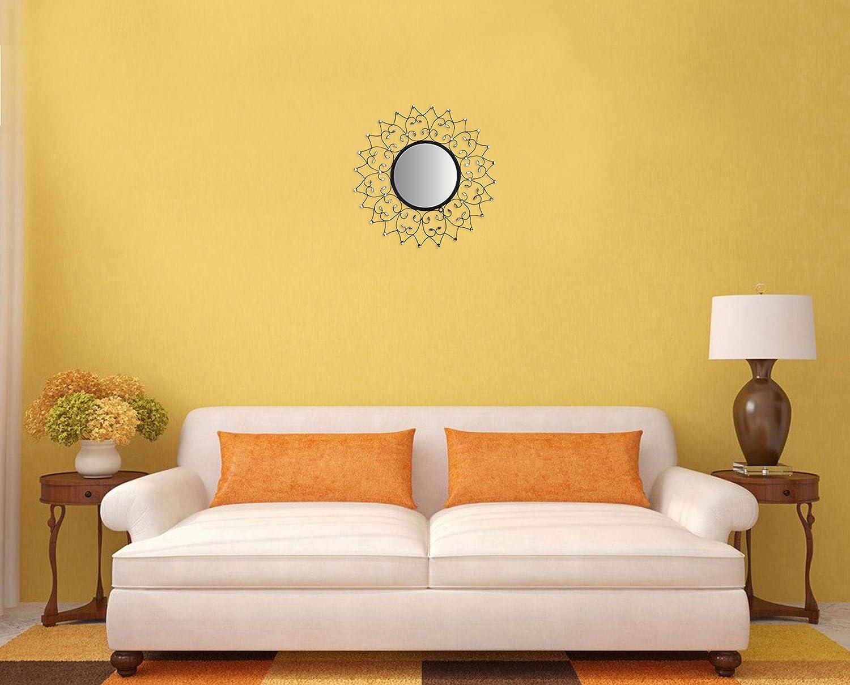 Amazon.com: LuLu Decor, Web Wall Mirror, Decorative Metal Wall ...