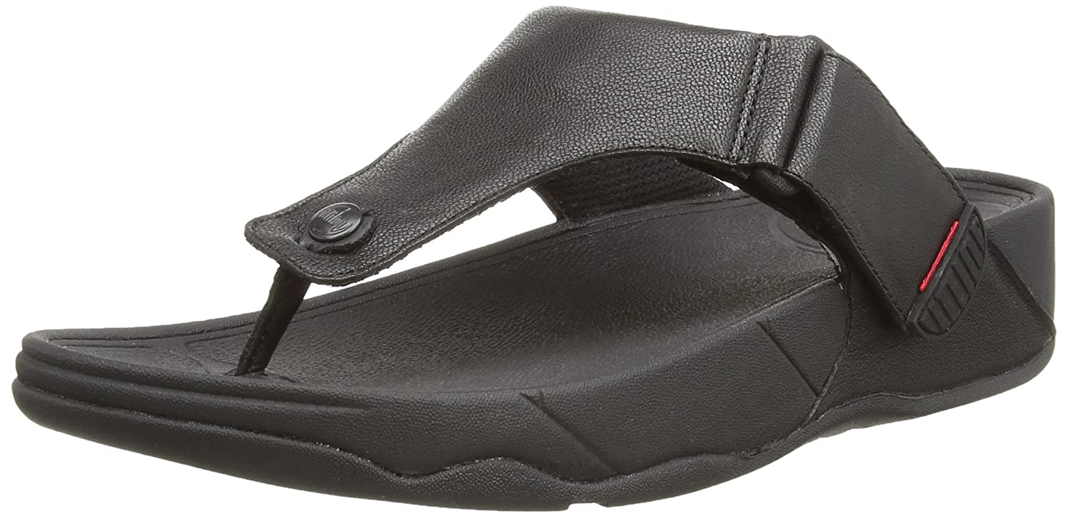Fitflop Trakk TM II - Chancletas Hombre 42 EU|Negro (All Black)