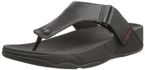Fitflop Trakk II, Men Open Toe Sandals, Black (Black), 7 UK