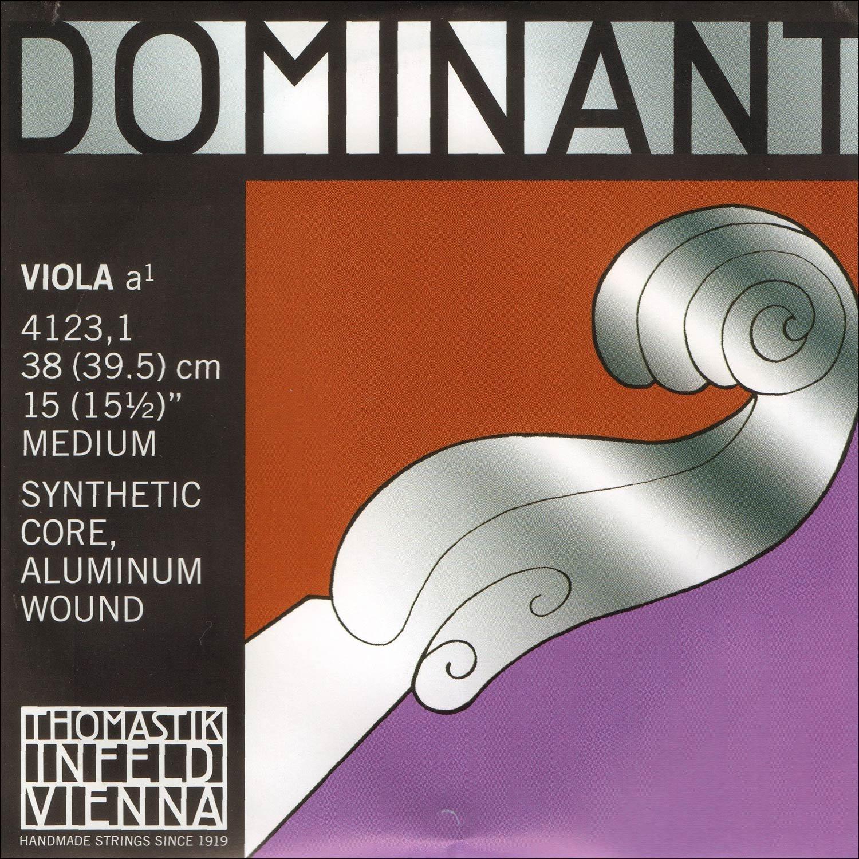 Dominant 16''-17'' Viola A String - Medium Gauge - Aluminum Wound Perlon Core - Thomastik Infeld