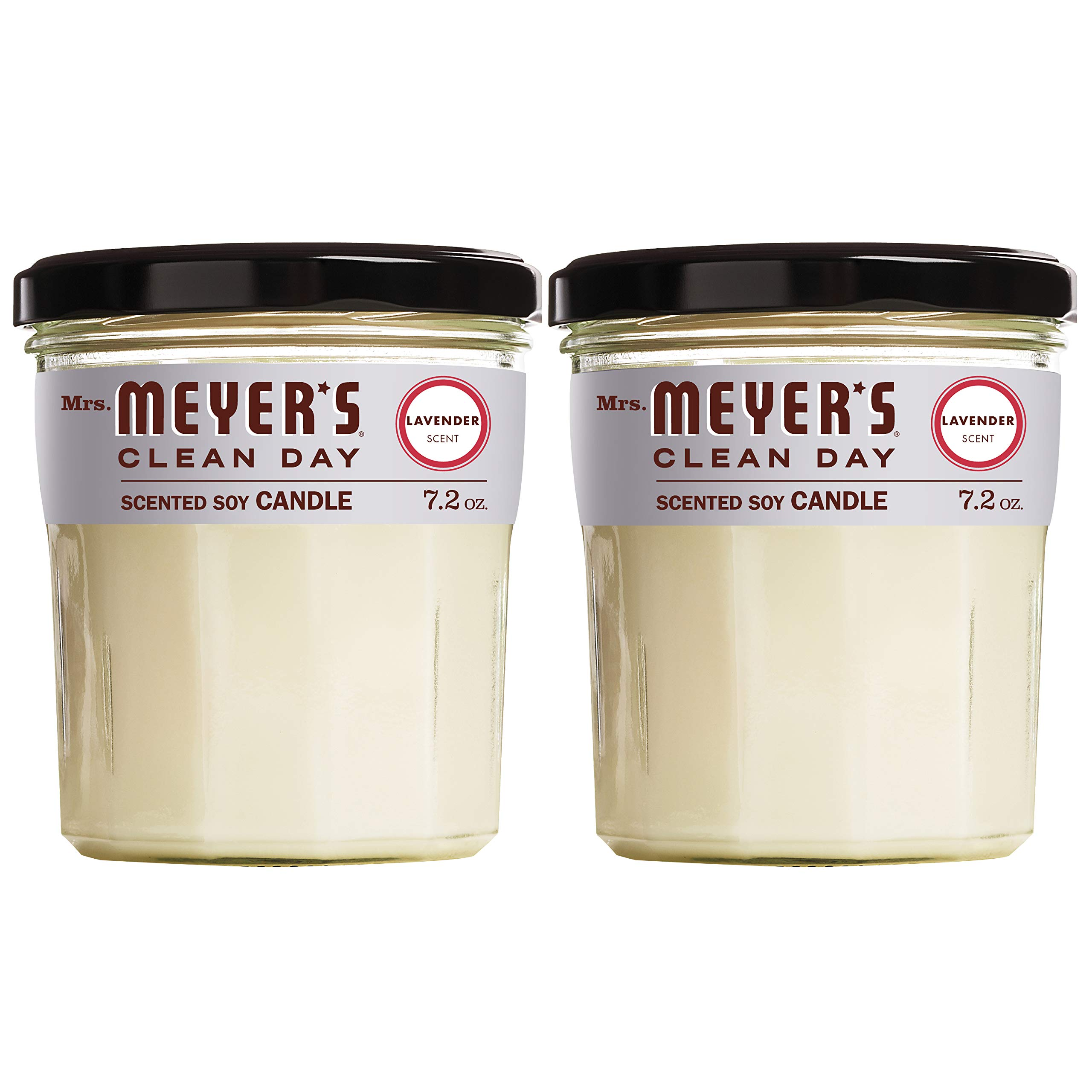 Mrs Meyers Scented Soy Candle (Scented Soy Candle) by Mrs. Meyer's Clean Day