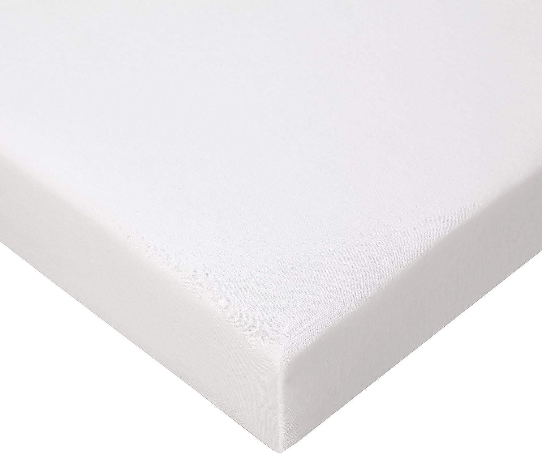 FabiMax 2697 Jersey Spannbettlaken f/ür Laufgitter 75x100 cm wei/ß