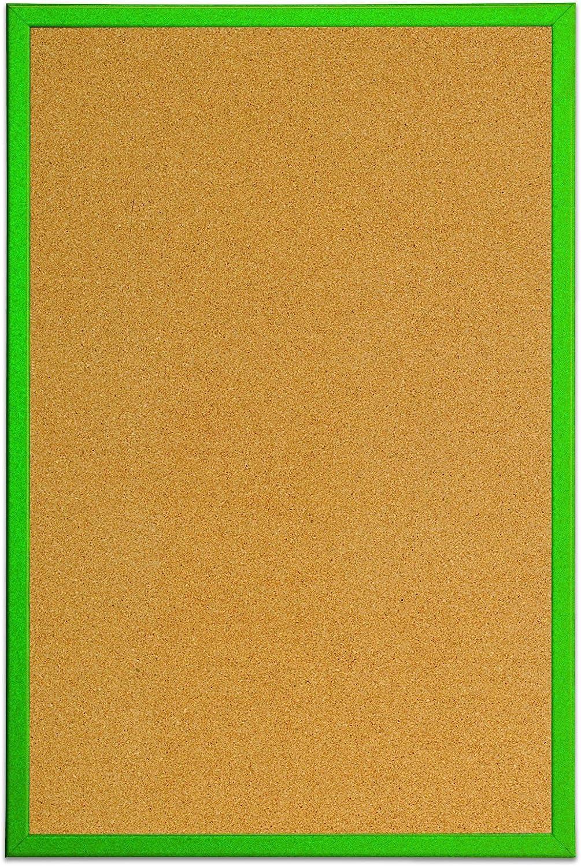 Bi-Office Cork Notice Board 60 x 40 cm Purple