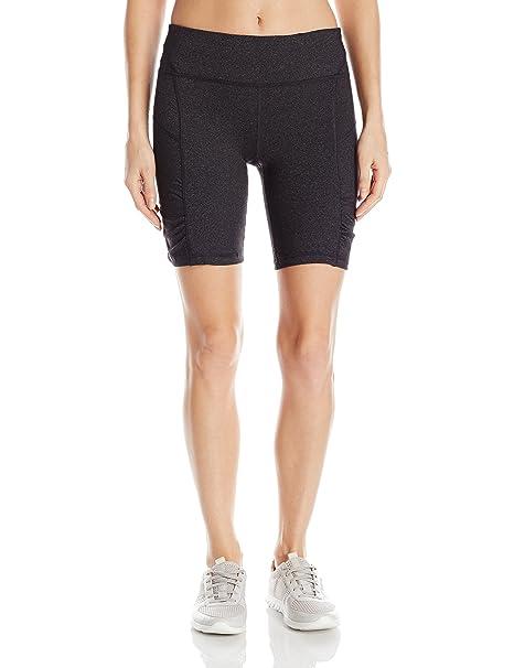Amazon.com: Calvin Klein Shirred Biker de la mujer corta ...
