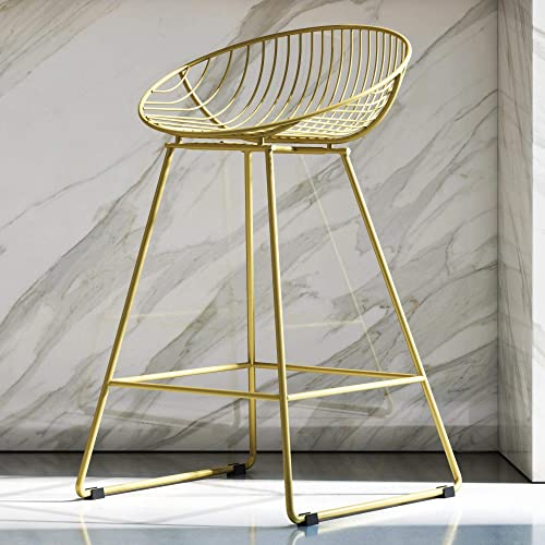 CosmoLiving Metal Counter Stool