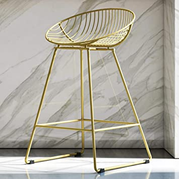 Awe Inspiring Cosmoliving By Cosmopolitan Ellis Barstools Gold Creativecarmelina Interior Chair Design Creativecarmelinacom