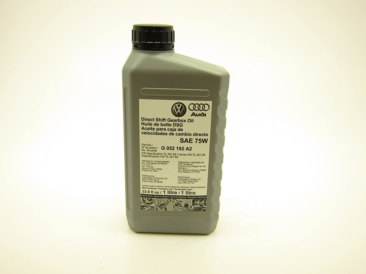 G-052-182-A2 DSG Transmission Oil 1 Case (12lts)