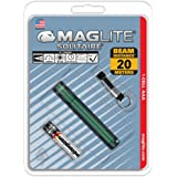 MagLite K3A396: Solitaire AAA Single Cell Flashlight Dark Green