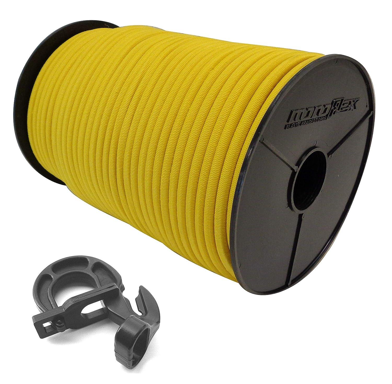 /10/mm GUMMISEIL goma cuerda en amarillo EasyFix gancho cuerda Soga el/ástica planificar lona 6/mm/