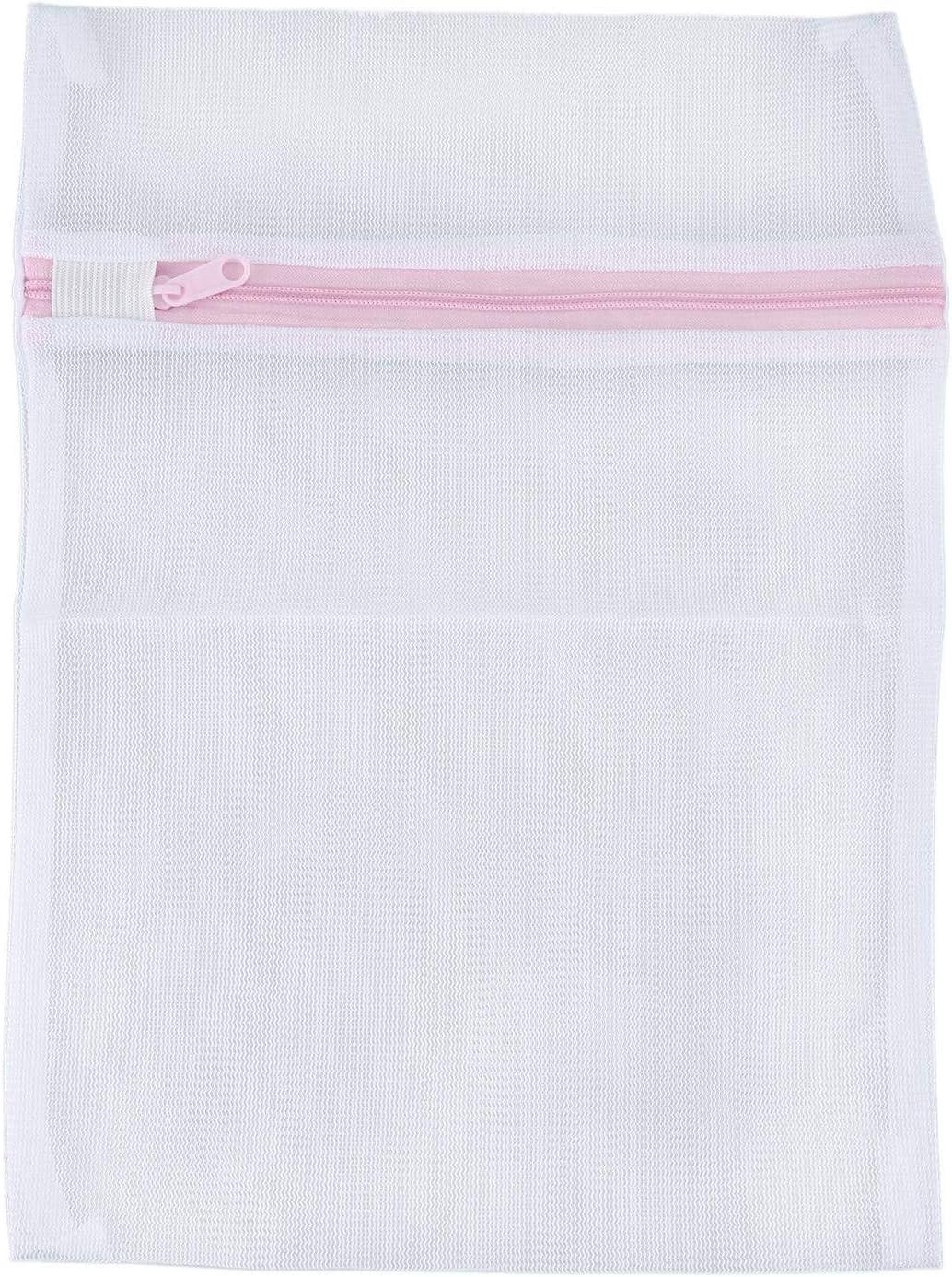 Gaetooely Bolsa de Lavadora de lavanderia de Ropa Interior Bra Calcetines de Lenceria de Red de Malla 23cm x 30cm