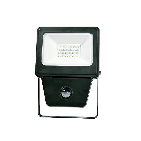 Unitec 48524 – Foco LED (20 W, 1600 lúmenes con detector de movimiento,