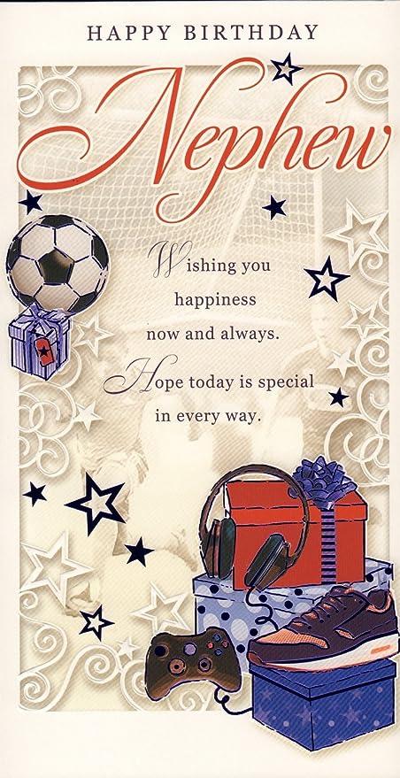 Tarjeta De Cumpleaños Para Sobrino Feliz Cumpleaños Sobrino