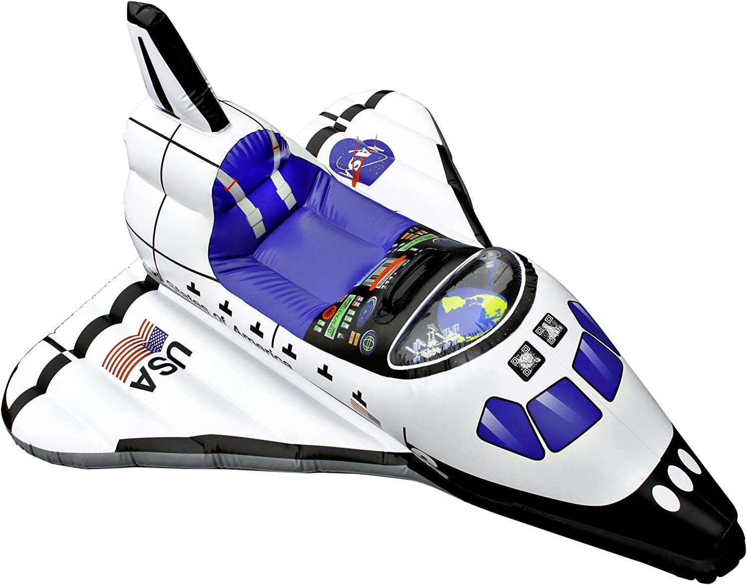 B00CMT8D88 Aeromax Junior Space Explorer Inflatable Space Shuttle 81EwT01qGvL
