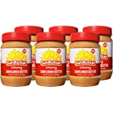 SunButter Original Creamy Sunflower Butter (Pack of 6)