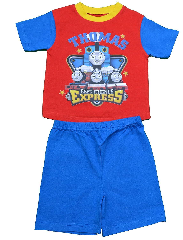 Boys Thomas and Friends Short Pjs Pyjamas Size 12-18 Months