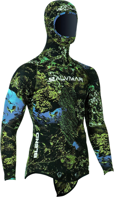 SALVIMAR - Blend Jacket 7 mm, Color Amarillo,Negro, Talla XL ...