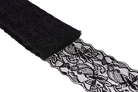 Ruffled Lace Trim 3//4 inch wide white  color selling by the yard