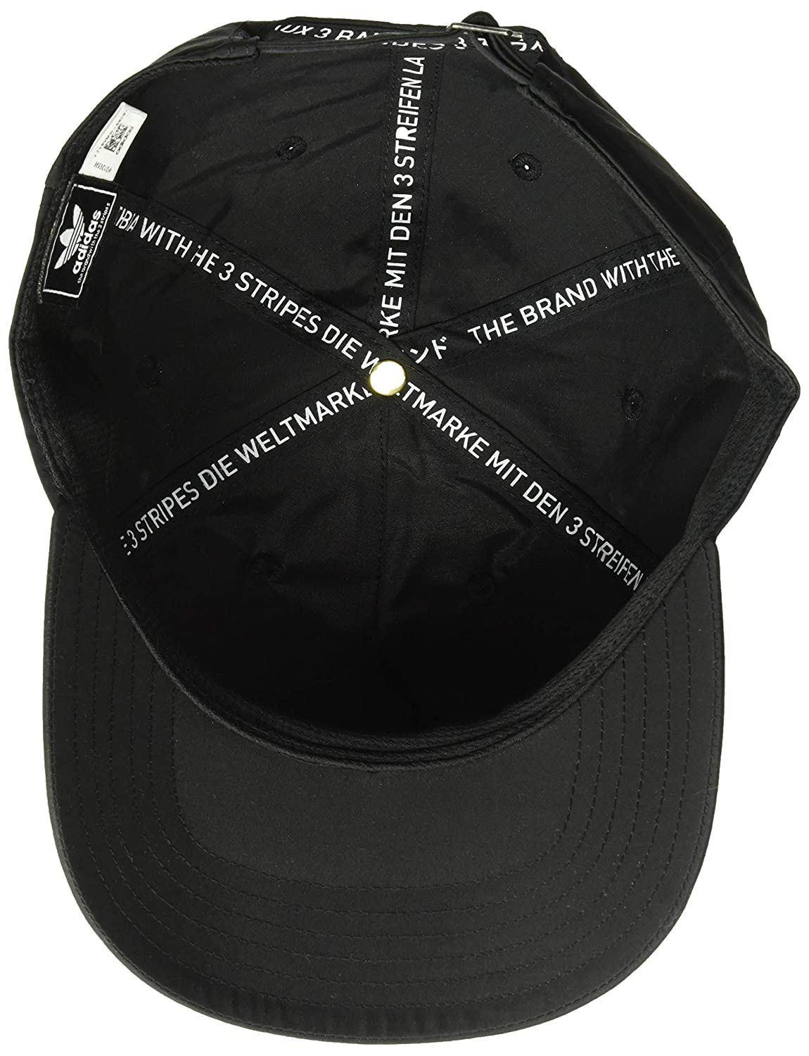 newest 17d74 beee6 Amazon.com  adidas Men s Originals NMD Relaxed Strapback Cap, black white,  One Size  Sports   Outdoors