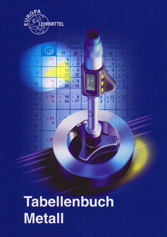 tabellenbuch metall