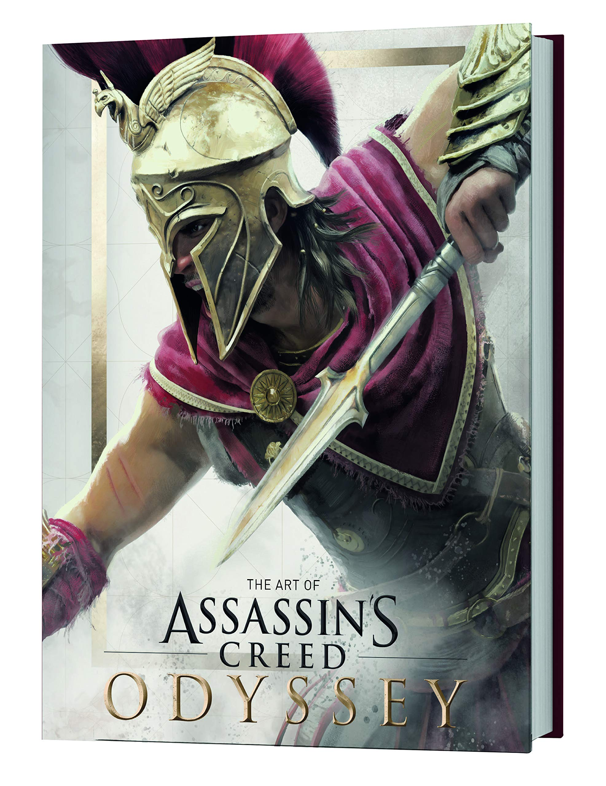 Amazon Com The Art Of Assassin S Creed Odyssey 9781785659652 Lewis Kate Books