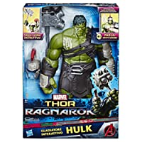 Hasbro Marvel Avengers-B9971103 Hulk Titan Hero Elettronico (Personaggio 30cm, Action Figure), B9971103