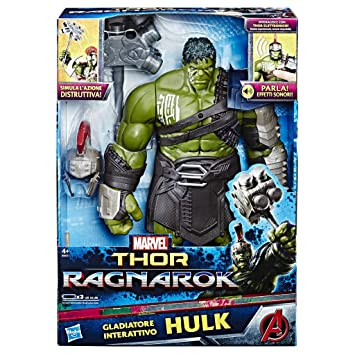 HASBRO MARVEL LEGENDS Avengers Thor Ragnarok Thor/'s Electronic Action Figure
