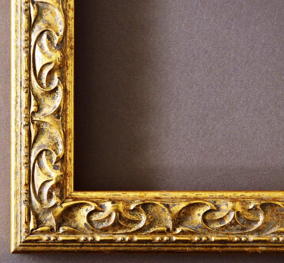 Amazon.de: Bilderrahmen Mantova Gold 3, 1 - LR - 24 x 30 cm - 500 ...