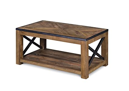 Magnussen T2386 43 Penderton Wood Rectangular Cocktail Table, Small