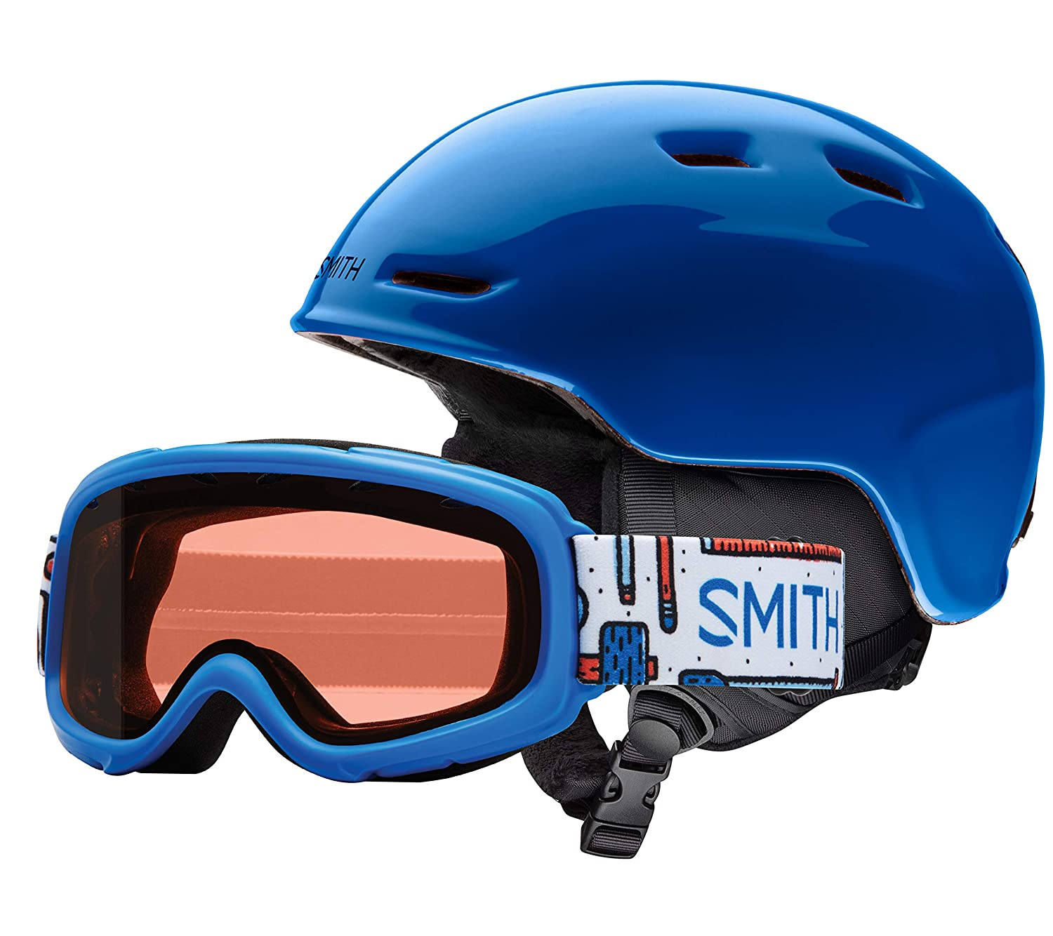d222c12064d Amazon.com  Smith Optics Unisex Youth Zoom Jr with Gambler Combo Snow  Sports Helmet  Sports   Outdoors