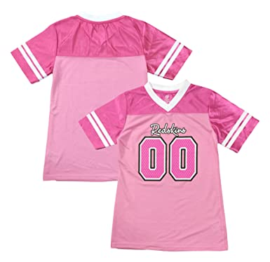 f73205bf0 Outerstuff Washington Redskins Logo  00 Pink Dazzle Girls Infant Jersey (12  Months)