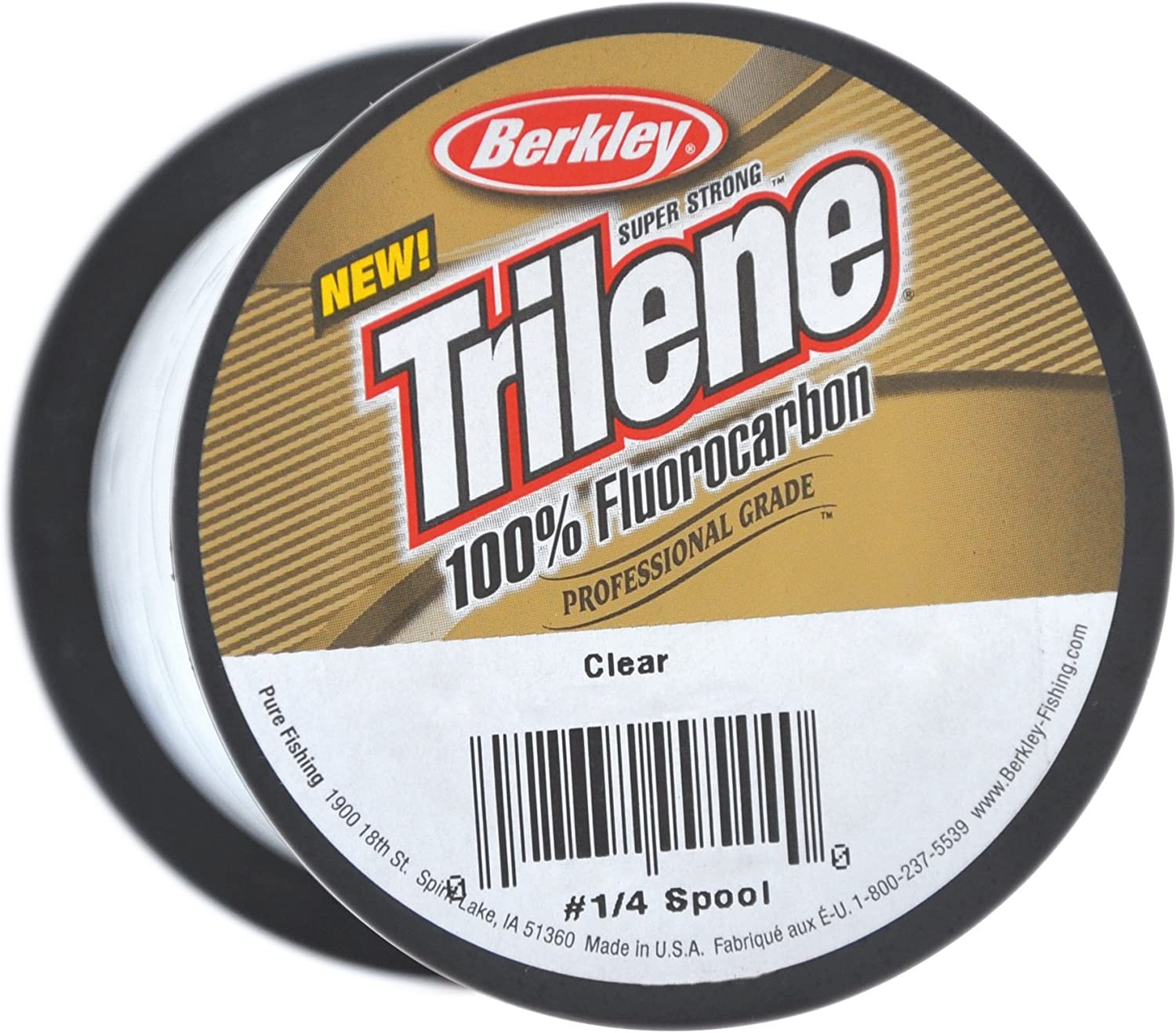Berkley Trilene Fluorocarbon Clear Line 12 lb 0.33mm 1100yds