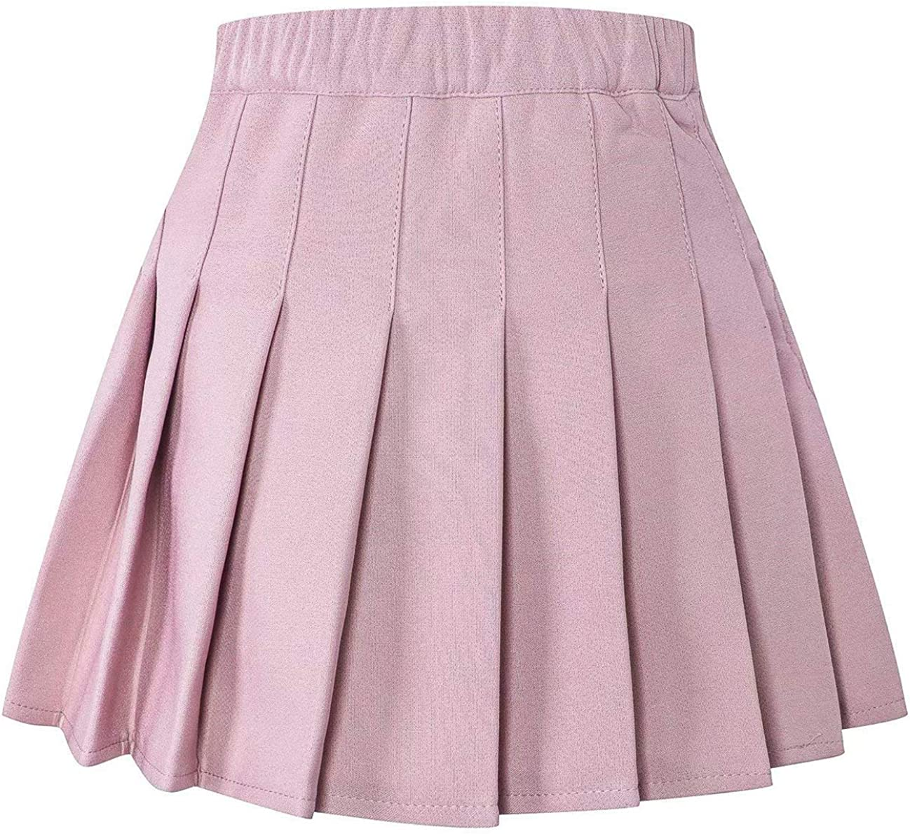 2 Years SANGTREE Girls /& Womens Pleated Skirt with Comfy Stretchy Band Adult XL