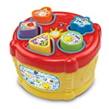 VTech Baby Sort and Discover Drum - Multi-Coloured