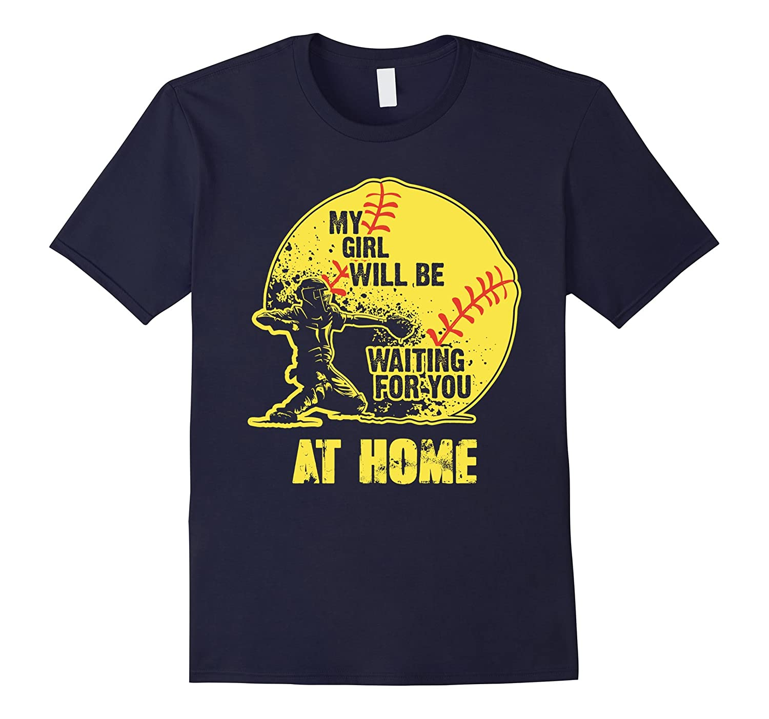 softball shirts - My girl - softball-Art